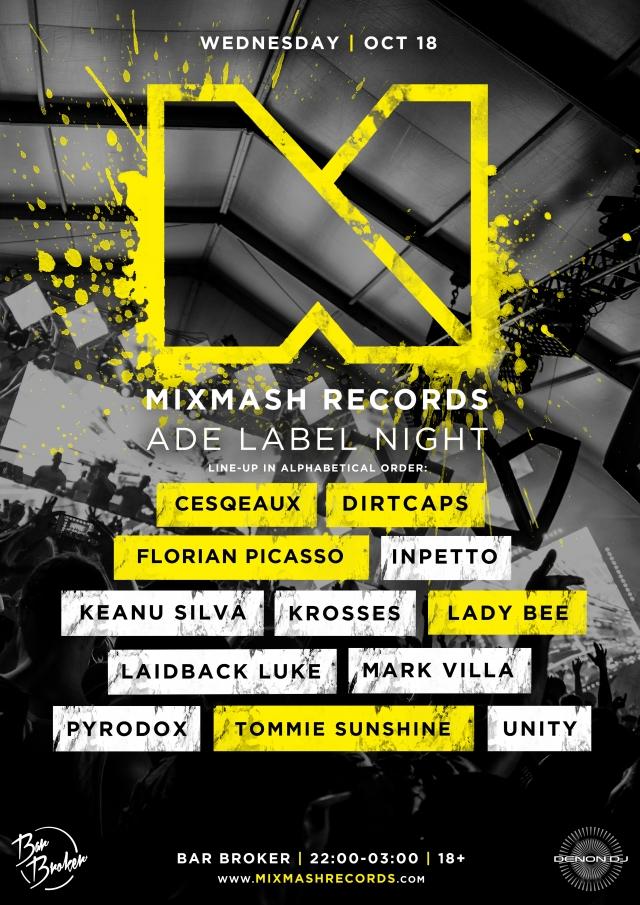 Mixmash ADE Label Night