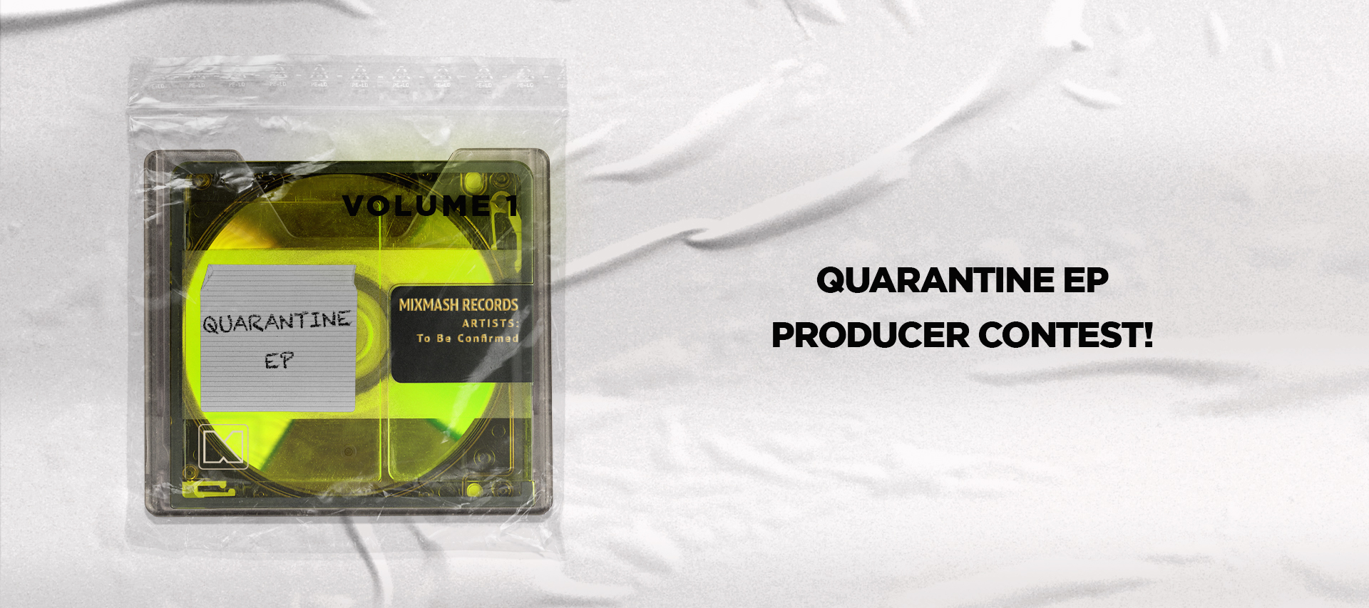 Mixmash Records supports artists and producers with new Quarantine EP series and 300 Euro advance!