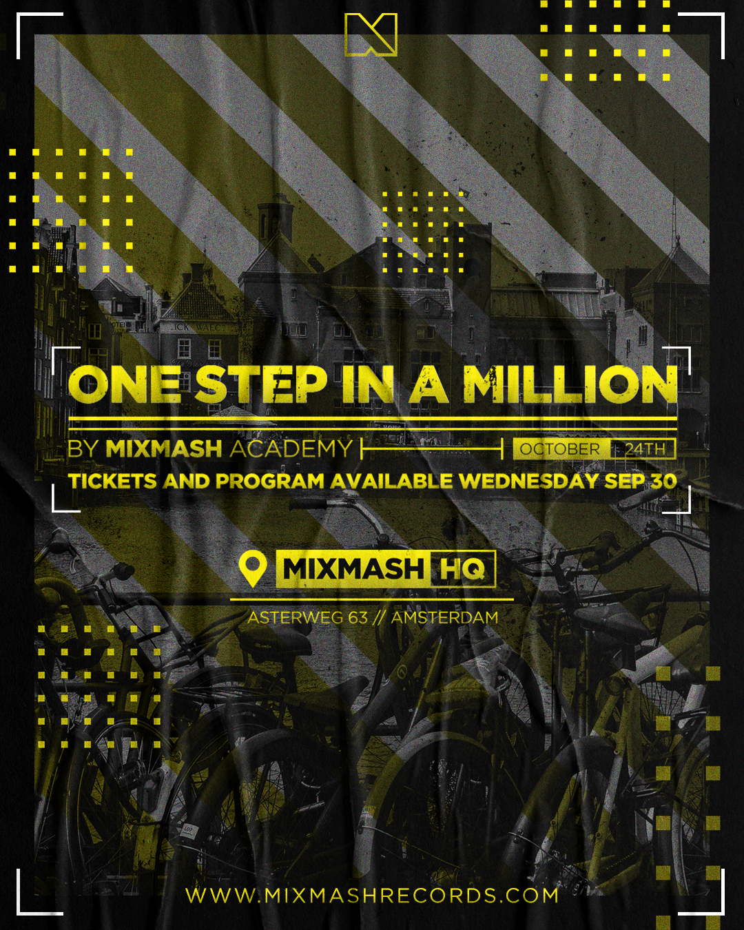 ONE STEP IN A MILLION BY MIXMASH ACADEMY